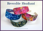 Sew a reversible Headband