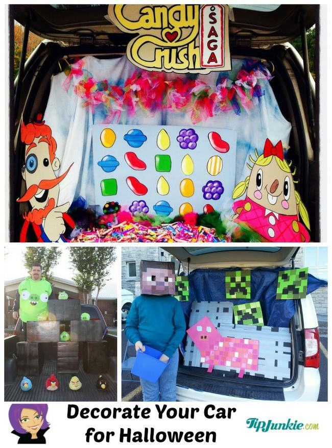 Trunk Or Treat Ideas Featuring Game Themes on 2 car garage design ideas