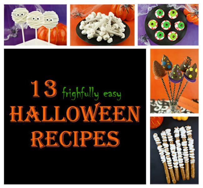13 (Easy) Halloween Treats