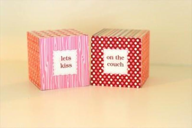 Love Dice {Valentine's Gift for Him}
