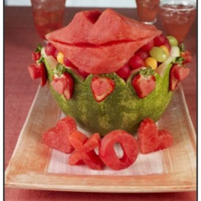 Valentine's Day Fruit Bowl