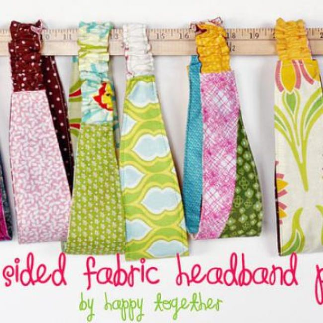 Double Sided Fabric Headband Tutorial {Style Accessories}
