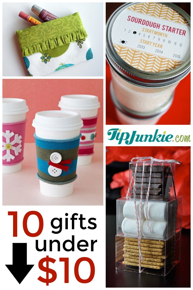 10 Presents for Christmas Under $10 To Make