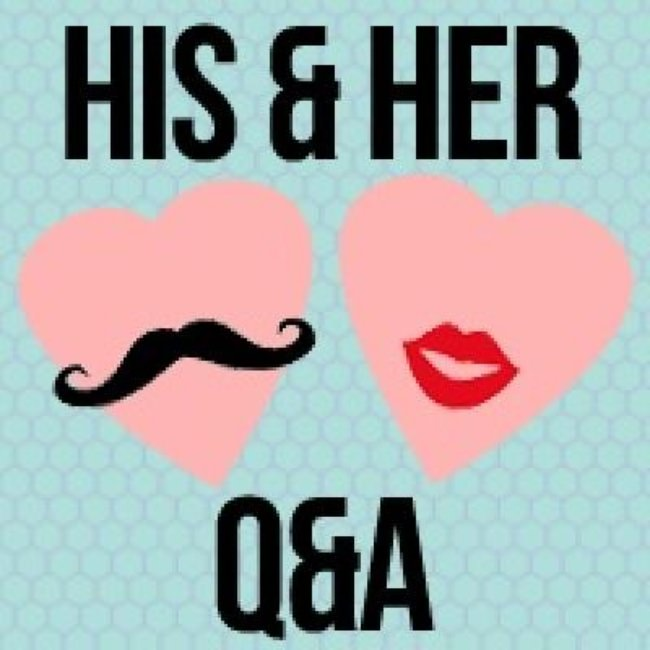 His and Hers Q&A {Valentines Day Fun}