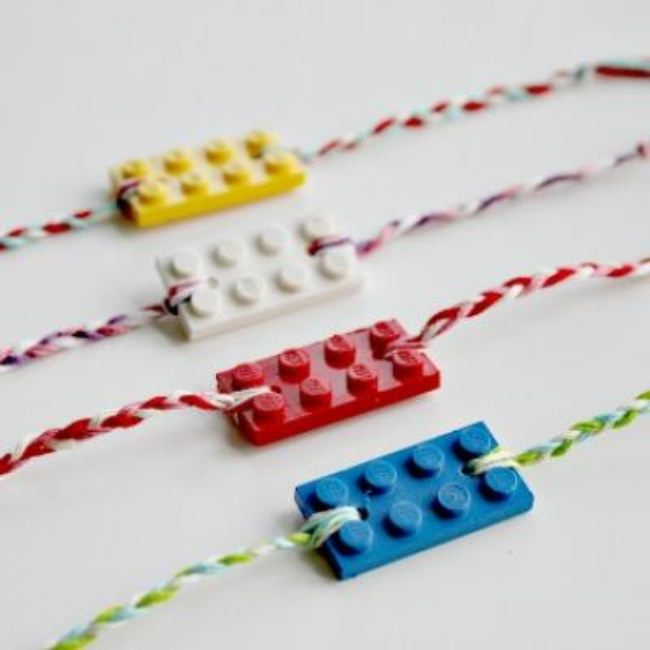 LEGO Friendship Bracelets {Kids Crafts}