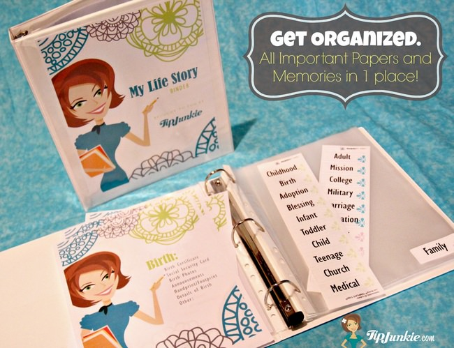 My Life Story Planner  {how to organize your life}