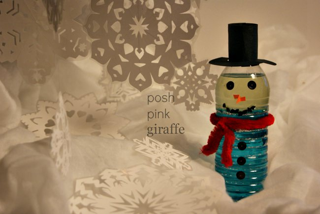 Mr. Shimmering Snowman-DIY