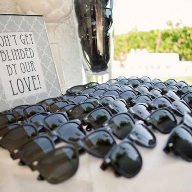 Sunglass Wedding Favors {Wedding Favor}