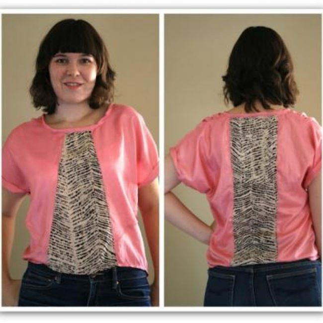 Two Tone Blouse Pattern {Tops}