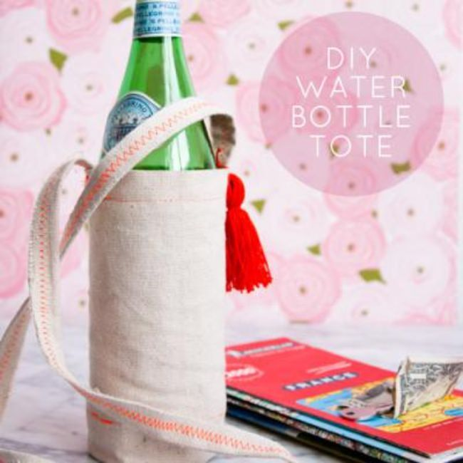 Water Bottle Tote {diy}