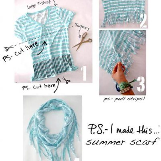 Summer Scarf DIY {Scarves}