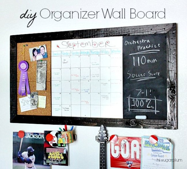 Large Organizer Wall Board