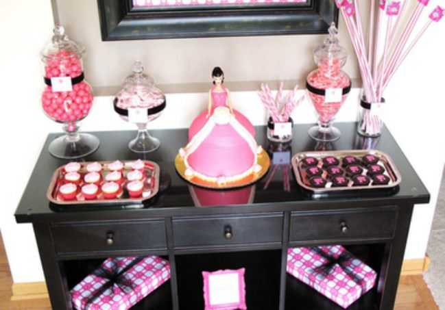 Vintage Barbie Birthday Party