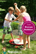 How to Make Human Bubble Game