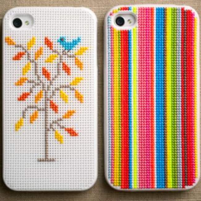 Cross Stitch iPhone Cases {Accessories}