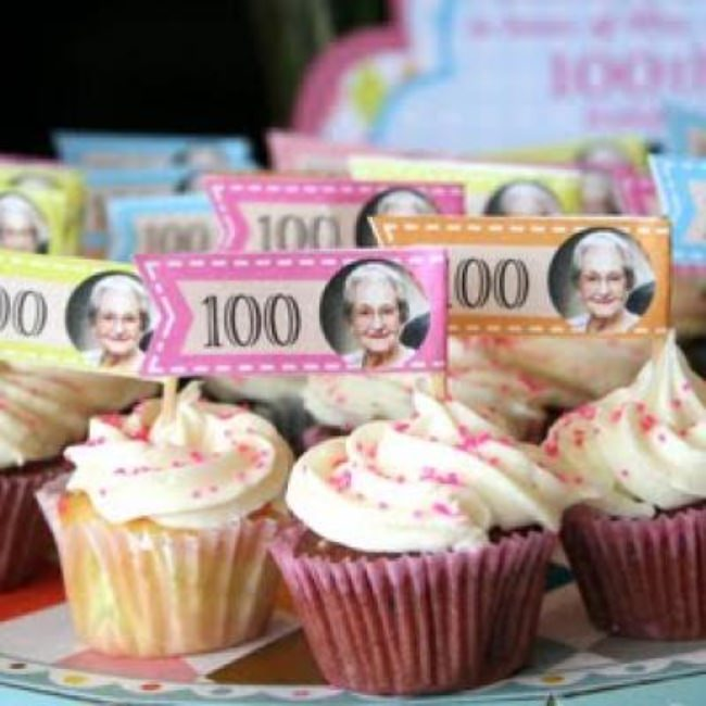 100th Birthday Celebration {Celebrations}