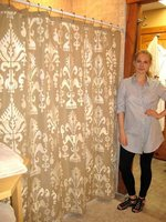 Customize your Curtains with Stencils!