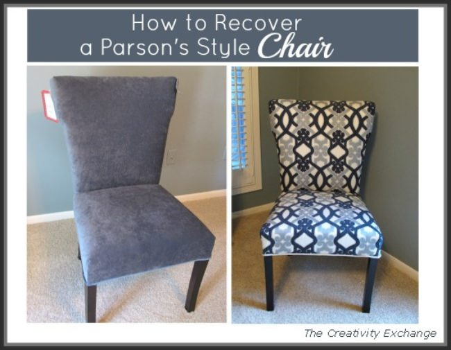 How to Recover a Parson's Style Chair