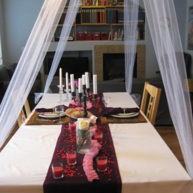 Romantic Dinner and Decor