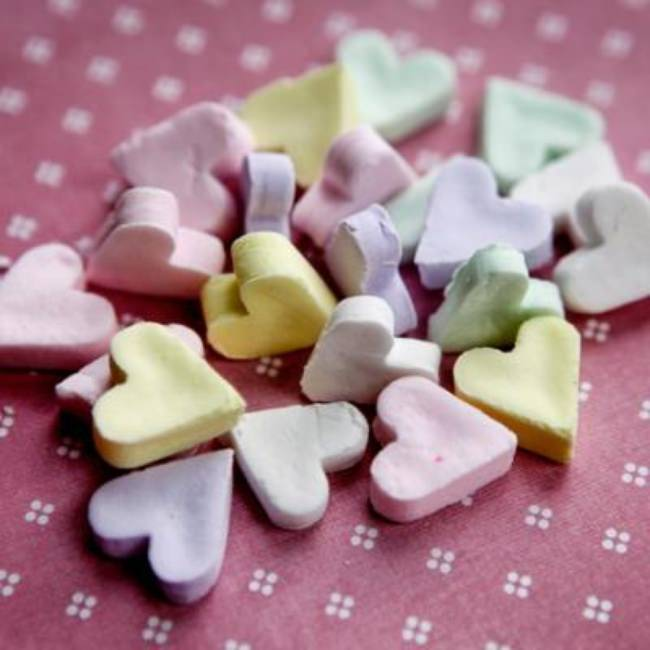 Homemade Conversation Hearts {Homemade Valentine Candy}