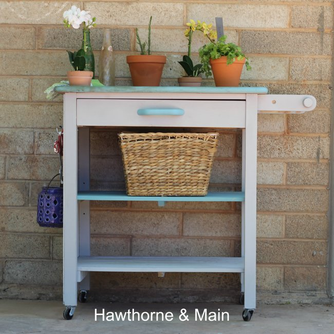 Kitchen Cart to Gardening Station