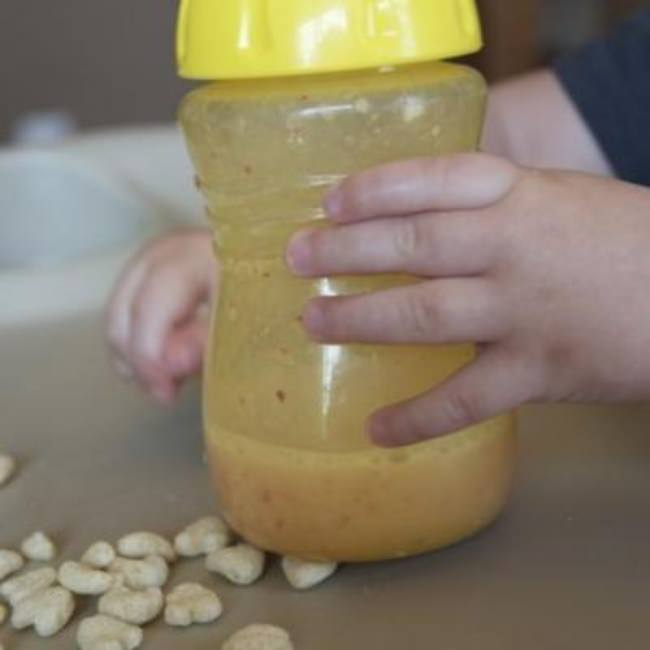 Toddler Friendly Fruit Smoothie {Picky Eaters}