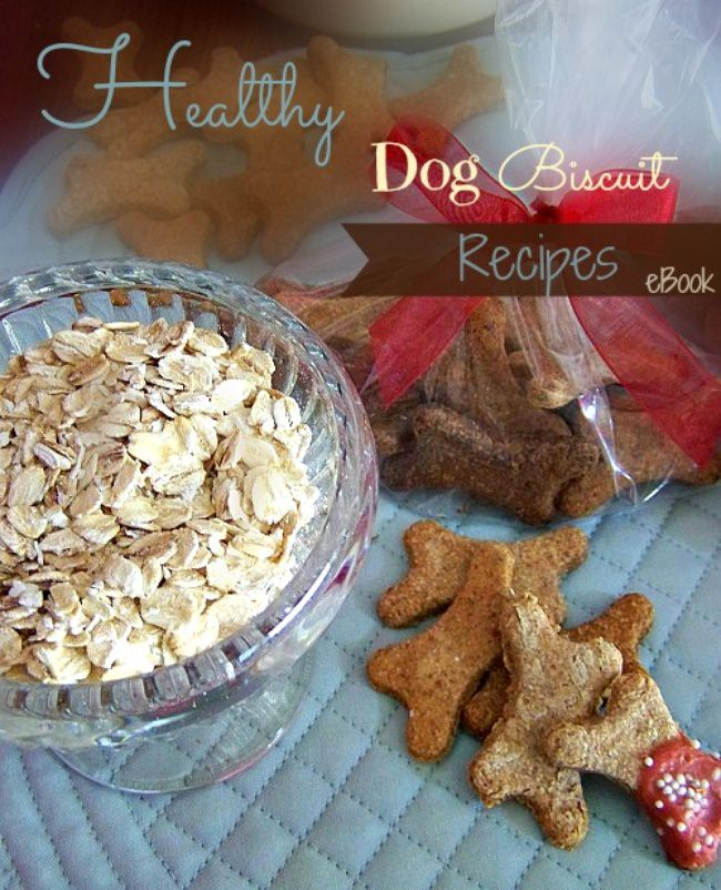Healthy Homemade Dog Treats + eBook