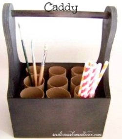 Toilet Paper Roll Caddy