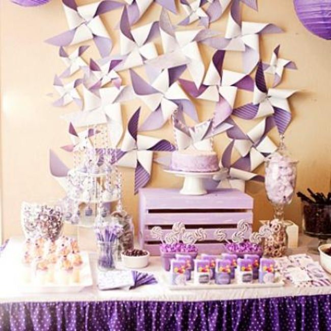 Pretty Purple Party {kids birthday party}