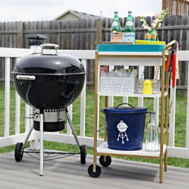 Outdoor Entertaining Cart {Outdoor Entertaining}