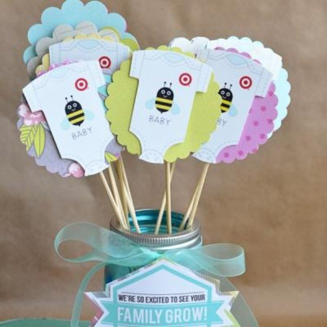 Baby Shower Gift Idea {free printables}