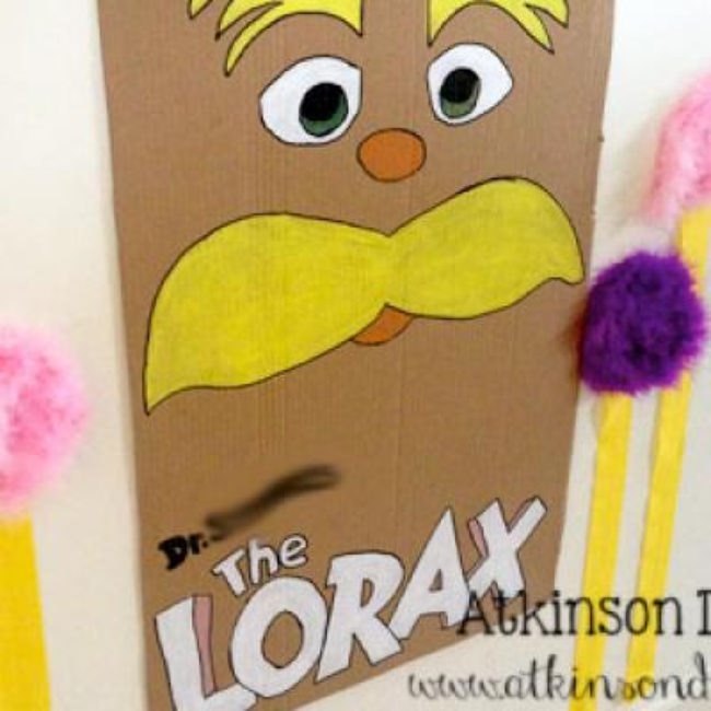 The Lorax Birthday {birthday decorations}