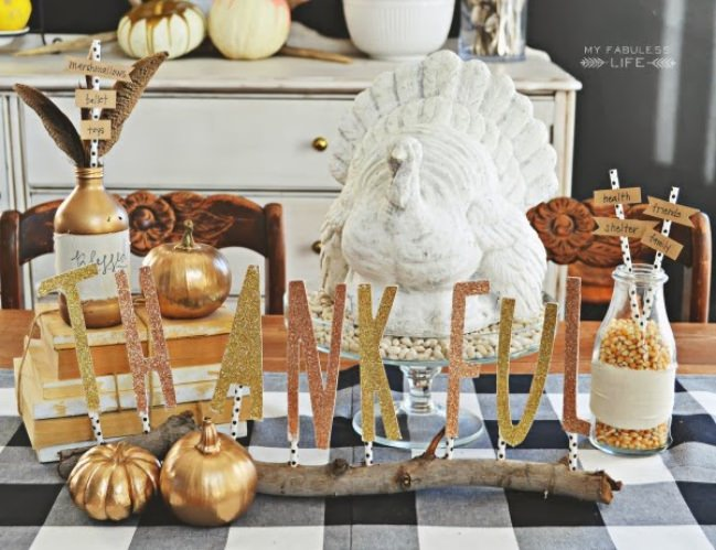 13 Beautiful DIY Fall Centerpieces