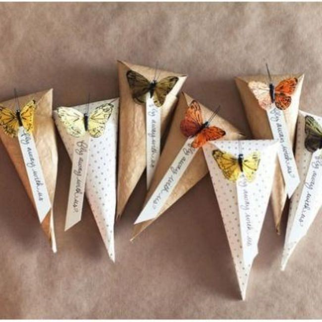 DIY Paper Cones {Packaging or Gift Wrap}