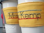 Personalized Pencil Drink Sleeve