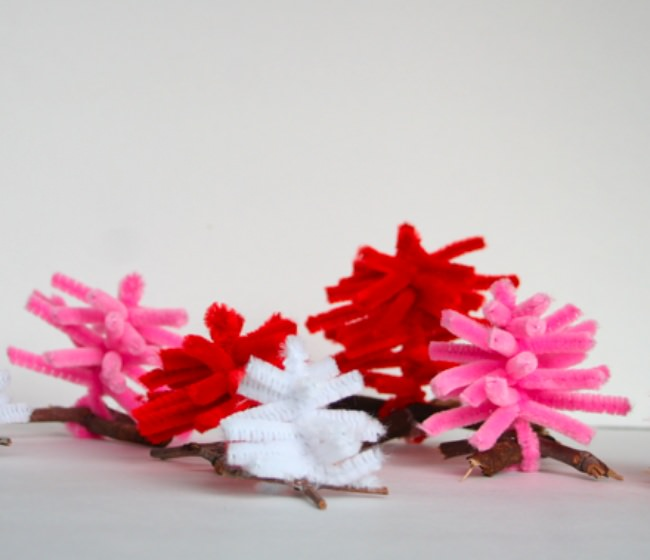 Pipe Cleaner Tree Tutorial