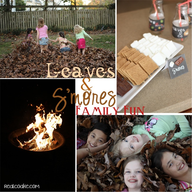 Fall Family Fun - Leaves & S'mores Party