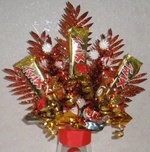 How to make a Christmas Candy Centerpiece