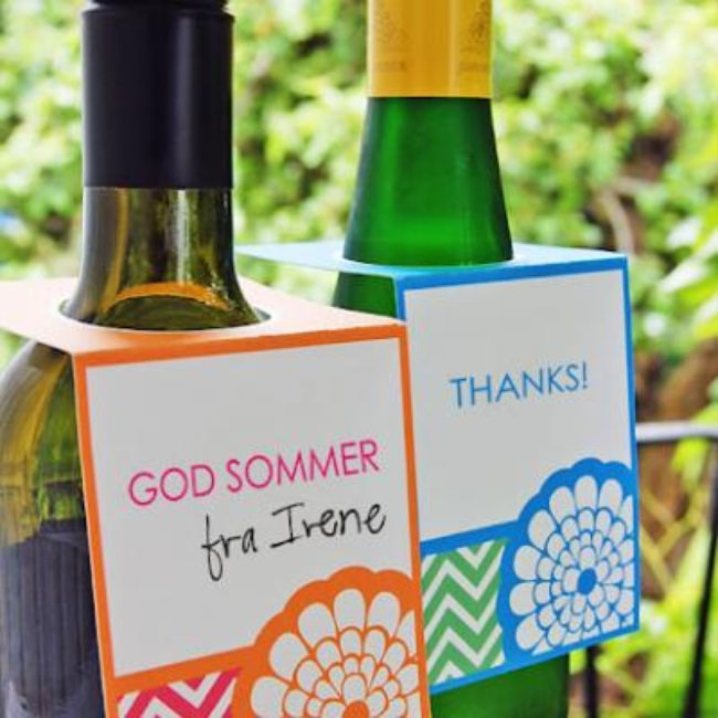 FIESTA Bottle Gift Tags