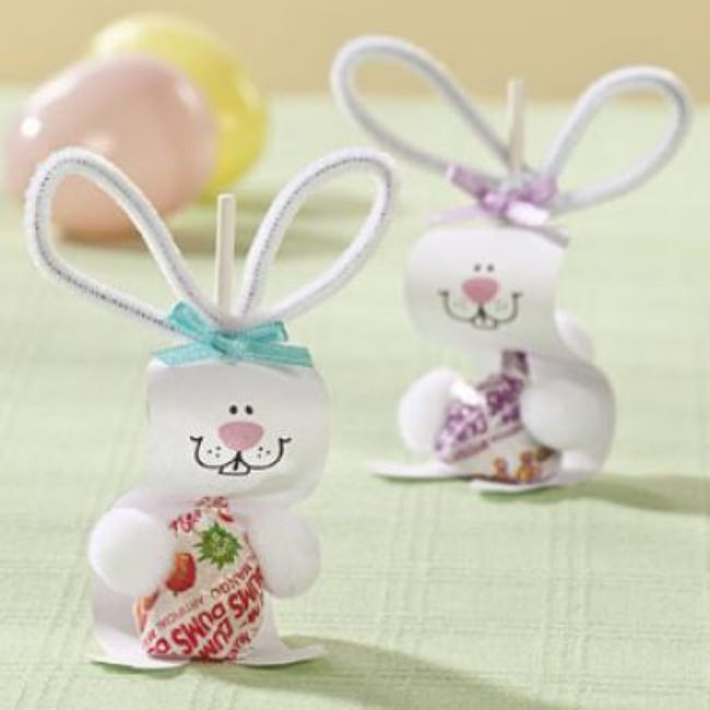Bunny Pop Craft {Easter Crafts}