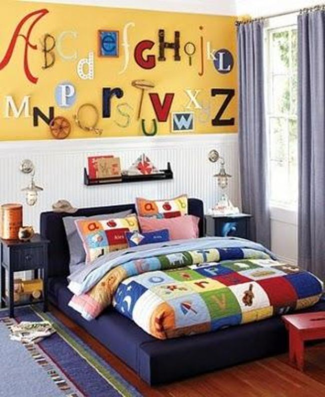 Alphabet Wall  {design}