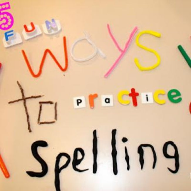 Teaching to Spell The Fun Way {Spelling}