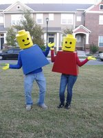 Lego Halloween Costumes  {how-to}