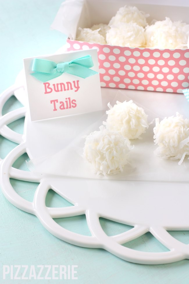 Easter Bunny Tails {Easter Treats}