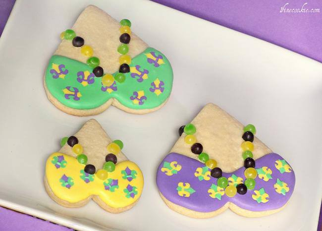 Mardi Gras Cookies {How-To}