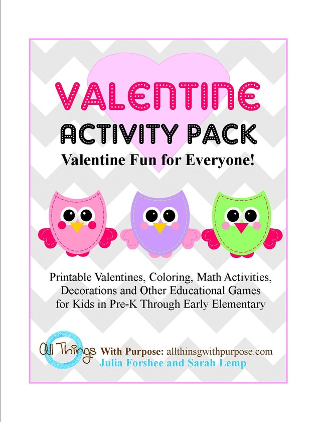Valentine Activity Pack {FREE}