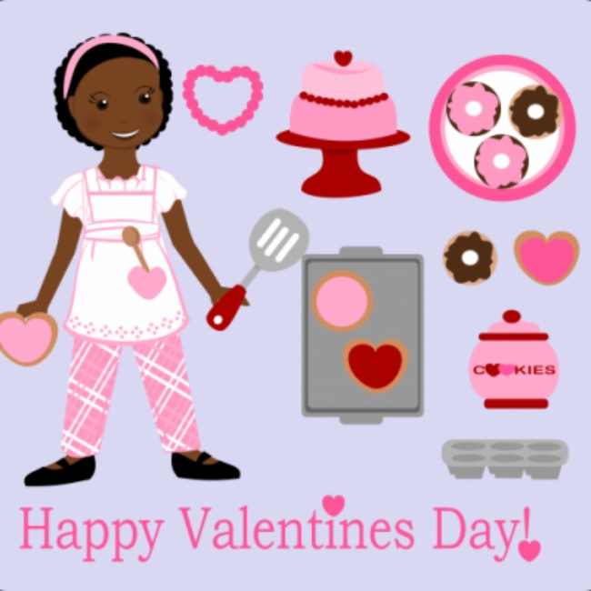 Valentine's Day Paper Doll {Free Printable}