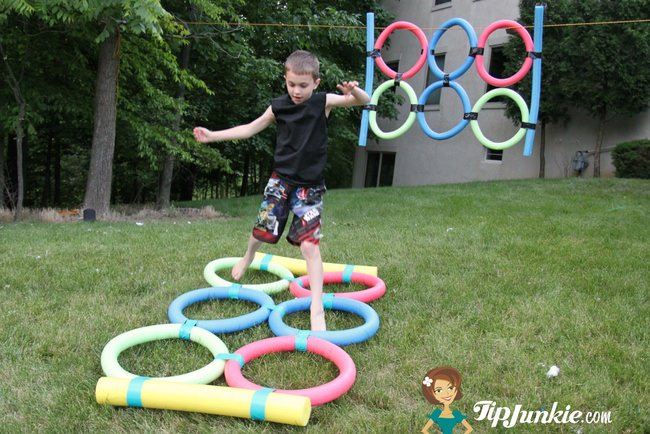 How to Make Agility Jump out of Pool Noodles