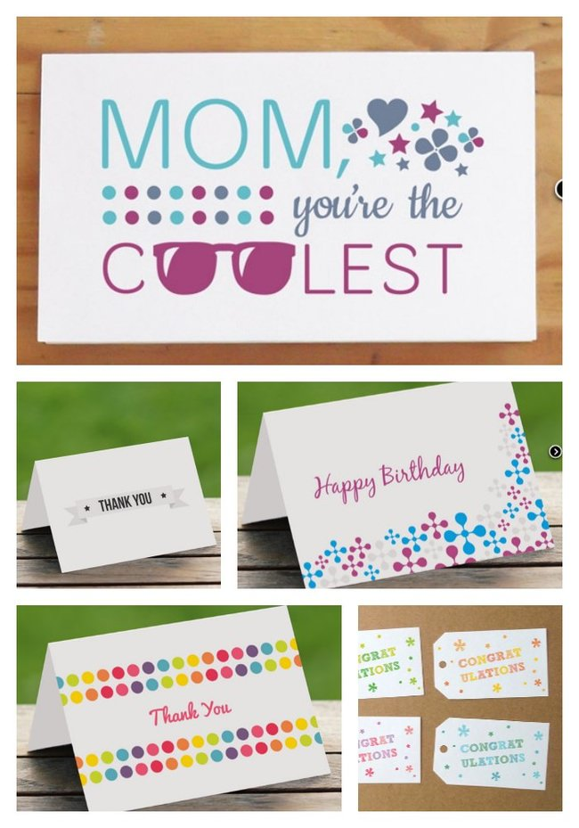 $7 Today!  Greeting Card PRINTABLE Bundle {65% off}