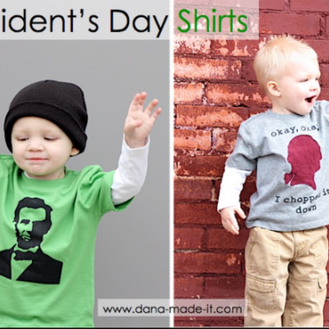 President's Day T-Shirts {Tutorial}